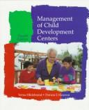 Management of child development centers by Verna Hildebrand