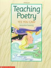 Cover of: Teaching Poetry | Jacqueline Sweeney