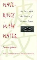 Cover of: Wave-rings in the water