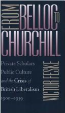 Cover of: From Belloc to Churchill