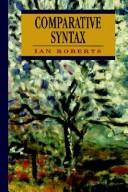 Cover of: Comparative syntax