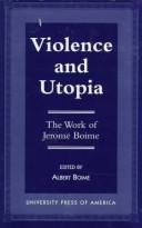 Cover of: Violence and Utopia