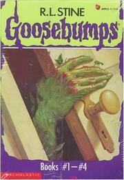 Cover of: Goosebumps Boxed Set, Books 1 - 4:  Welcome to Dead House, Stay Out of the Basement, Monster Blood, and Say Cheese and Die!