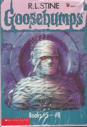 Cover of: Goosebumps Boxed Set, Books 5 - 8:  The Curse of the Mummy's Tomb, Let's Get Invisible!, Night of the Living Dummy, and The Girl Who Cried Monster