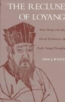 Cover of: The recluse of Loyang