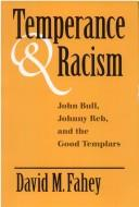 Cover of: Temperance and racism