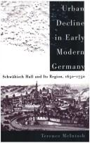 Cover of: Urban decline in early modern Germany