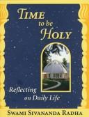 Cover of: Time to be holy