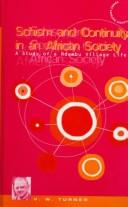 Schism and continuity in an African society by Victor Witter Turner