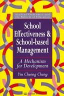 Cover of: School effectiveness and school-based management