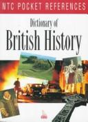 Cover of: Dictionary of British history. |