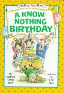 Cover of: A Know-Nothing birthday