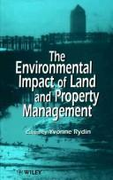 Cover of: The environmental impact of land and property management |