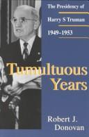 Cover of: Tumultuous years