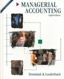 Cover of: Managerial accounting