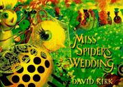 Cover of: Miss Spider's wedding