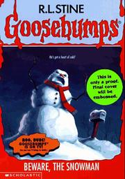 Cover of: Beware, the snowman | R. L. Stine