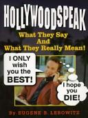 Cover of: Hollywoodspeak