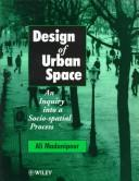 Design of urban space