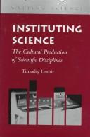 Cover of: Instituting science