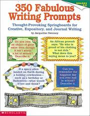 Cover of: 350 Fabulous Writing Prompts (Grades 4-8)
