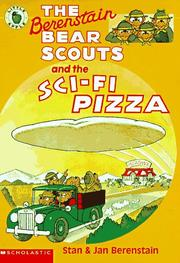 Cover of: The Berenstain Bear Scouts and the Sci-Fi Pizza (The Berenstain Bear Scouts) | Stan Berenstain