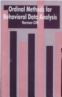 Cover of: Ordinal methods for behavioral data analysis