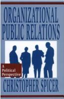 Cover of: Organizational public relations