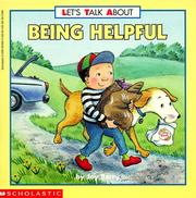 Cover of: Being helpful