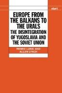 Cover of: Europe from the Balkans to the Urals