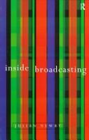 Cover of: Inside broadcasting | Julian Newby