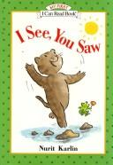 Cover of: I See, You Saw
