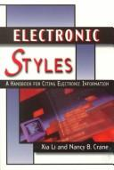 Cover of: Electronic styles