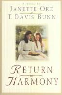 Cover of: Return to Harmony: a novel