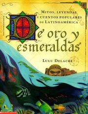 Cover of: De oro y esmeraldas