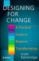 Cover of: Designing for change