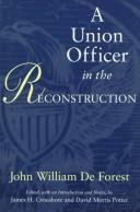 A Union officer in the Reconstruction by John William De Forest