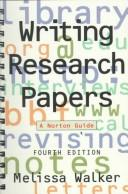 Cover of: Writing research papers | Melissa Walker