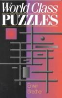 Cover of: World class puzzles