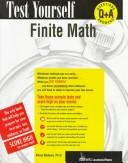 Cover of: Finite math