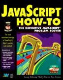 Cover of: JavaScript how-to