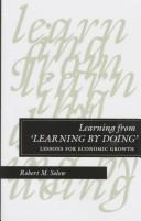 "Cover of: Learning from ""learning by doing"""