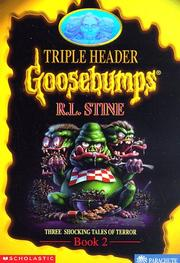 Cover of: Goosebumps Triple Header Book 2: Three Shocking Tales of Terror