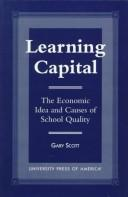 Cover of: Learning capital