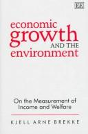 Cover of: Economic growth and the environment