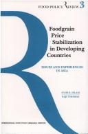 Cover of: Foodgrain price stabilization in developing countries