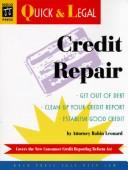 Cover of: Credit repair