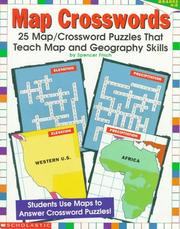 Cover of: Map Crosswords (Grades 4-8) | Spencer Finch