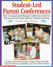 Cover of: Student-led parent conferences