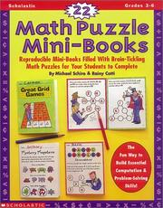 Cover of: 22 Math Puzzle Mini-Books (Grades 3-6)